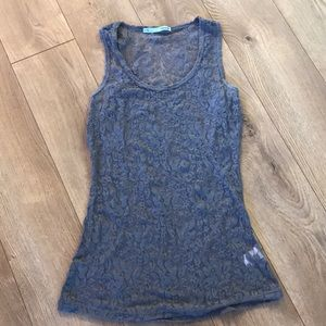Maurice's small lace tank top.